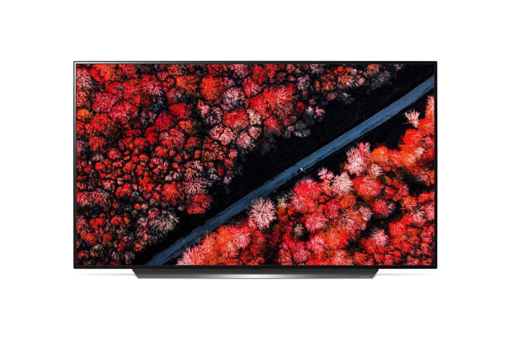 Wygląd telewizora LG OLED65C9