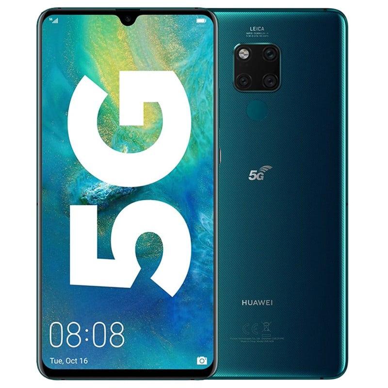 Zdjęcie frontu i aparatu Huawei Mate 20 X 5G
