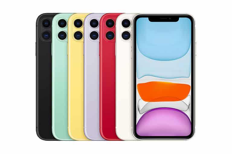 Wszystkie kolory iPhone'a 11