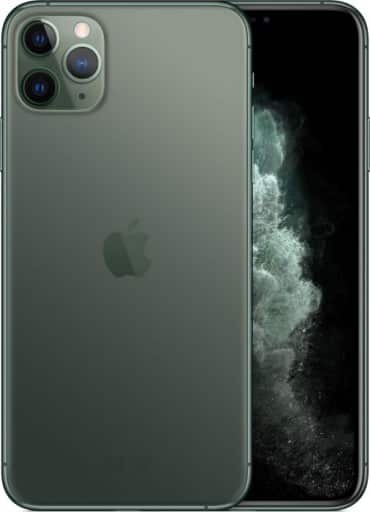 Widok aparatu i ekranu w iPhone 11 Pro