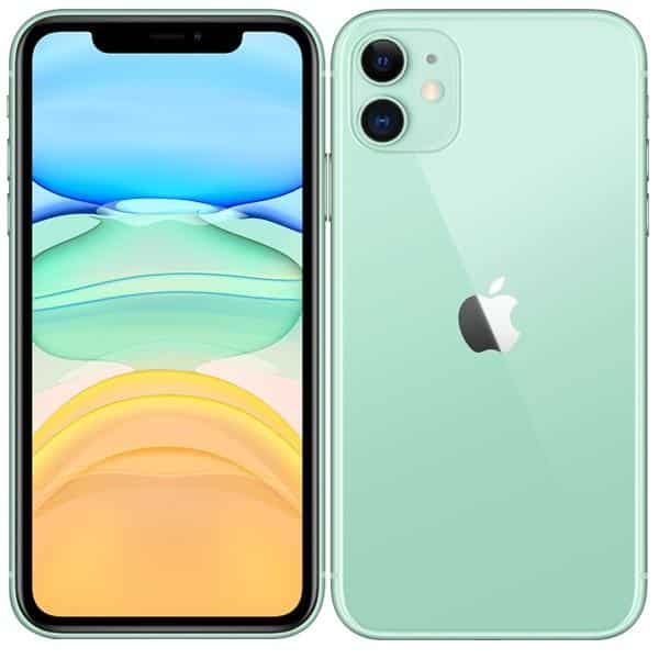 Wygląd ekranu i aparatu w iPhone 11