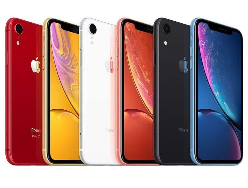 Wszystkie kolory iPhone'a XR