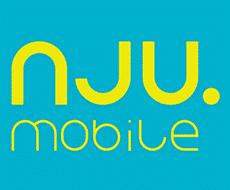 Logo operatora komórkowego NJU Mobile