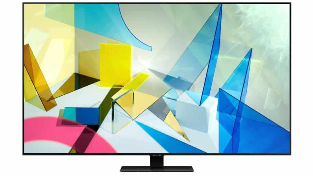 Wygląd telewizora Samsung QE55Q80TAT