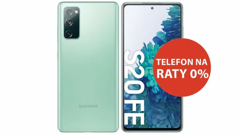 Telefon Samsung Galaxy S20 FE na raty