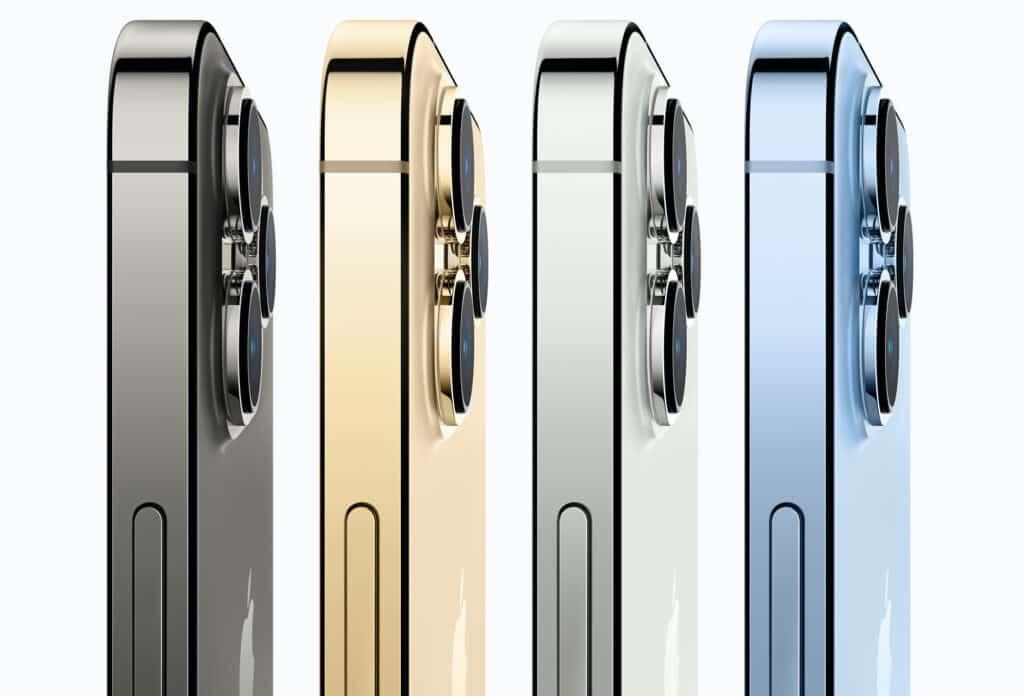 Wszystkie kolory iPhone 13 Pro