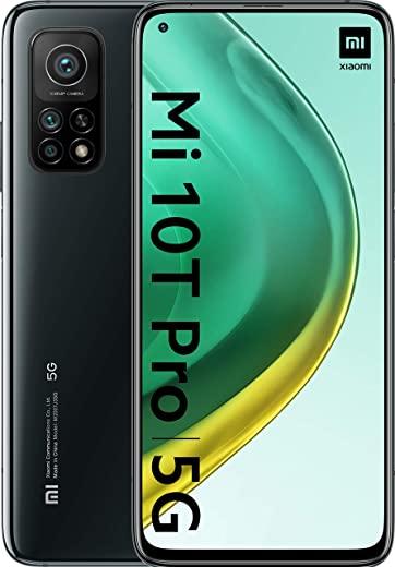 """Xiaomi Mi 10T Pro 5G Smartfon, 6.67"""" LCD, 8GB/128GB, Cosmic Black"""