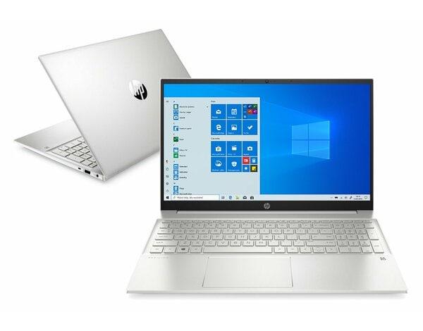 Laptop HP Pavilion 15-eg0076nw FHD i5-1135G7/16GB/512GB SSD/INT/Win10H Srebrny (Natural Silver)